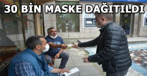 AK PARTİ TEŞKİLATI AKÇAKOCA ESNAFINA...