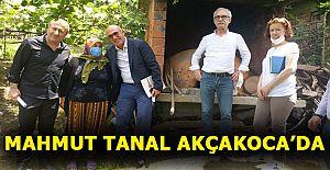 CHP DÜZCE KOORDİNATÖR MİLLETVEKİLİ MAHMUT TANAL AKÇAKOCA'DA