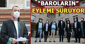 ÇOKLU BARO SİSTEMİ'NE KARŞI AKÇAKOCA AVUKATLARINDAN EYLEM!