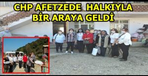 CHP GENEL MERKEZ YÖNETİCİSİ AFETZEDE...