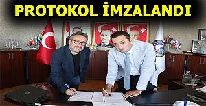 KAPALI PAZAYERİ İÇİN PROTOKOL İMZALANDI.
