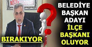 Mustafa Zorlu İlçe Başkanlığı'nı bırakıyor mu ?