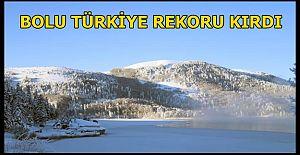 Bolu eksi 32 dereceyle bu gece Türkiye#039;nin...