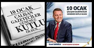 ESVET BAŞKAN GAZETECİLER...