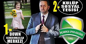 BAŞKAN YANMAZ'DAN 2 YENİ SOSYAL PROJE MÜJDESİ