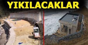 Akçakoca'da 2 kaçak yapı daha yıkılıyor… Ekipler öğleden sonra işleme başlayacak
