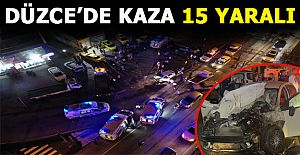 4 Aracın Karıştığı Kazada 15 Kişi Yaralandı: 3'ü Ağır!..