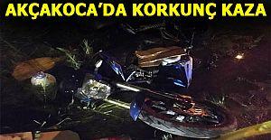 Motor ve otomobil sürücüleri ağır yaralandı