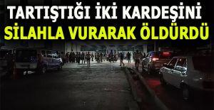 KARDEŞLERİNİ ÖLDÜREN ZANLI YAKALANDI...