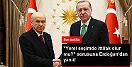 AK PARTİ VE MHP YEREL SEÇİMLERDE BİRLEŞİR...