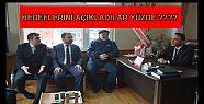 AK PARTİDEN MHP'YE ZİYARET