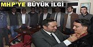 AKÇAKOCA HALKINDAN MHP'YE BÜYÜK İLGİ...