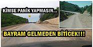 AKÇAKOCA MELENAĞZI YOLU BAYRAM ÖNCESİNDE...