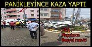 AKÇAKOCA ŞEHİR MERKEZİNDE TRAFİK KAZASI...