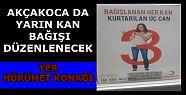 Akçakoca'da kan bağışı kampanyası...