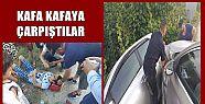 AKÇAKOCA'DA KAZA 2 YARALI (VİDEO HABER...