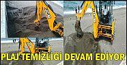 Akçakoca'da Plaj Temizliği