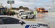 Akçakoca'da trafik kazası : 4 yaralı