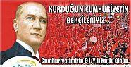 Akçakocalı Gençler 91. Yılında Cumhuriyete...