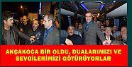 Akçakoca'nın muhtarları Mehmetçiğimize...