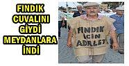 CHP Lİ BAŞKAN FINDIK ÇUVALINI GİYEREK...
