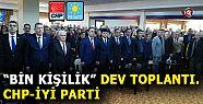 CHP'NİN ADAY TANITIM TOPLANTISI GERÇEKLEŞİYOR