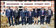 Düzce Valisi Dağlı Akçakoca'da ziyaretlerde...