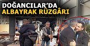 FİKRET ALBAYRAK'A DESTEK BÜYÜK