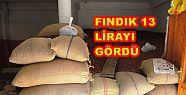 FINDIK 13 TL 50 KURUŞA ALICI BULUYOR