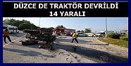 Fındık işçilerini taşıyan traktör...