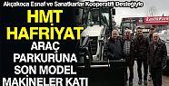 HMT Hafriyat Parkurunu Genişletiyor