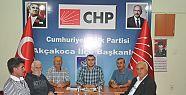 İLÇE BAŞKANI ALBAYRAK ÇALIŞMALARI DEĞERLENDİRDİ...