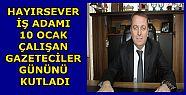 İŞ ADAMI ESVET SARIOĞLU ÇALIŞAN GAZETECİLER...