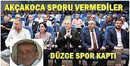KADİR PANDUL DÜZCESPOR'UN BAŞKAN YARDIMCISI...