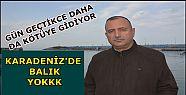 KARADENİZ'DE AŞIRI AVCILIK BALIĞI BİTİRİYOR...