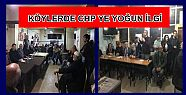 KÖYLERDE FİKRET ALBAYRAK'A YOĞUN İLGİ...