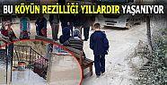 """KÖYLÜLERDEN """"YOL KAPATMA"""" EYLEMİ"""