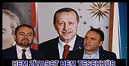 MHP AK PARTİYE ZİYARET ETTİ