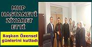 MHP İLÇE BAŞKANI HASTANEYİ ZİYARET...