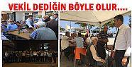 MHP Lİ VEKİLE AKÇAKOCA'DA SEVGİ SELİ...