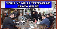MHP'den AK Partiye Hayırlı Olsun Ziyaret