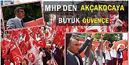 MHP'NİN ADAYLARI AKÇAKOCA'YA SESLENDİ