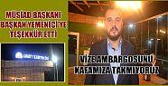 """MÜSİAD """"VİZE AMBARGOSUNU KAFAMIZA TAKMIYORUZ""""..."""