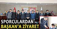 ŞAMPİYON VOLEYBOLCULAR BAŞKAN YEMENİCİ'Yİ...