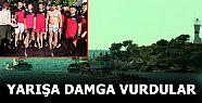 SANDAL YARIŞLARINDA KARABURUN GENÇLİK...