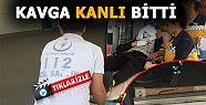 SOPA İLE DARP EDİLEN ADAM HASTANELİK...