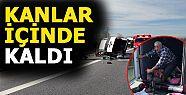 TEM'DE FECİ KAZA! (VİDEOLU)