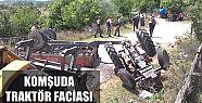 Traktör Devrildi: 7 Ölü, 20 Yaralı