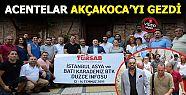 Vali Dağlı ile turizm acenteları Akçakocayı...
