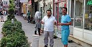 VATANDAŞIN DUA'LI TEPKİSİ